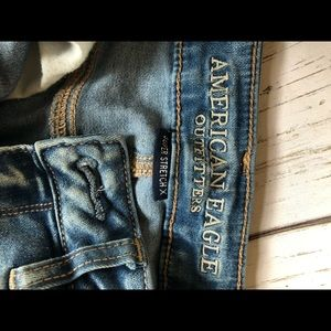 WORN ONCE American eagle destroyed skinnies